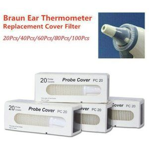100 For Braun Probe Covers Thermoscan Replacement
